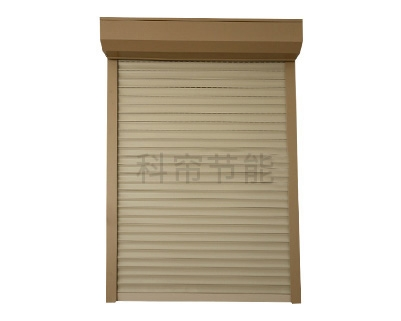 电动铝合金卷帘外遮阳